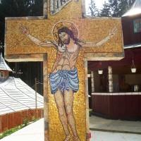 Cruce Mozaic Mânăstirea Sihăstria Rarău - Câmpulung Moldovenesc