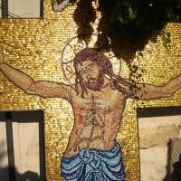Troiță mozaic - detaliu