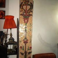 Coloană mozaic - colecție particulară