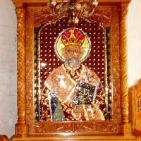 Sf. Ierarh Nicolae - iconostas Mănăstirea Chiroiu