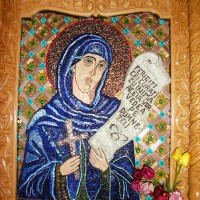Sf. Paraschieva - iconostas Mânăstirea Chiroiu