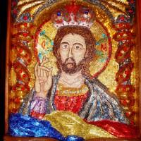 Iisus Hristos - Mântuitorul - Paraclisul Mănăstirii Sf. Arhangeli Mihail și Gavriil - Petru Vodă