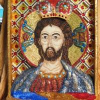 Icoana Mozaic Iisus Hristos Mântuitorul