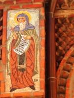 Sf. Antonie cel Mare - mozaic Biserica Sf. Anton - Curtea Veche București