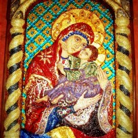 Mozaic religios - icoane
