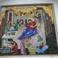 Mozaic religios la comanda